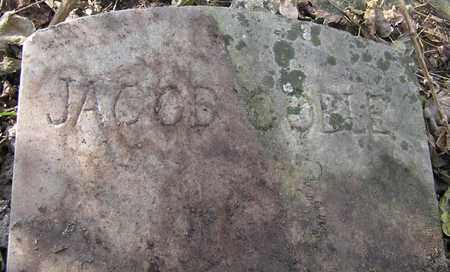 COBLE, JACOB (CLOSEUP) - Greene County, Missouri | JACOB (CLOSEUP) COBLE - Missouri Gravestone Photos