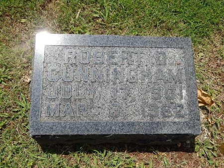 CUNNINGHAM, ROBERT D - Greene County, Missouri | ROBERT D CUNNINGHAM - Missouri Gravestone Photos