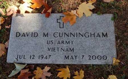 CUNNINGHAM, DAVID M (VETERAN VIET) - Greene County, Missouri   DAVID M (VETERAN VIET) CUNNINGHAM - Missouri Gravestone Photos