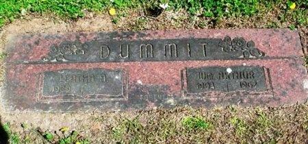 DUMMIT, LEATHA A. - Greene County, Missouri | LEATHA A. DUMMIT - Missouri Gravestone Photos