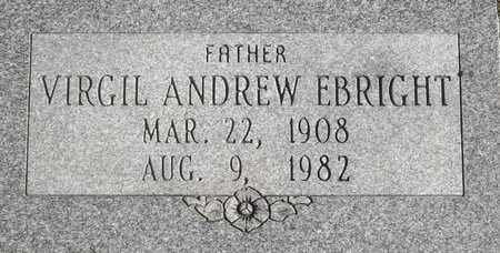 EBRIGHT, VIRGIL ANDREW - Greene County, Missouri | VIRGIL ANDREW EBRIGHT - Missouri Gravestone Photos