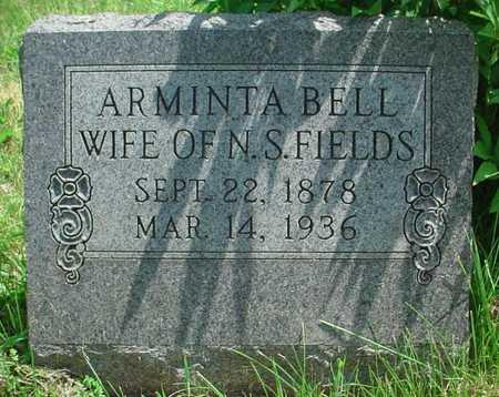 FIELDS, ARMINTA BELL - Greene County, Missouri | ARMINTA BELL FIELDS - Missouri Gravestone Photos
