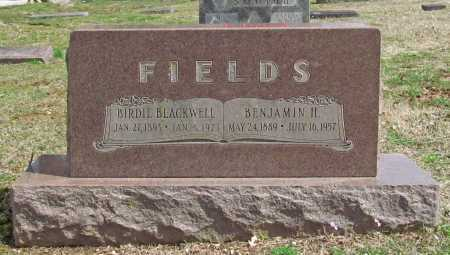 FIELDS, BENJAMIN H - Greene County, Missouri | BENJAMIN H FIELDS - Missouri Gravestone Photos