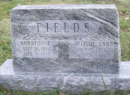 FIELDS, BURRTON E. - Greene County, Missouri | BURRTON E. FIELDS - Missouri Gravestone Photos