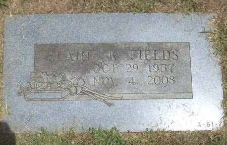 FIELDS, ELAINE KAY - Greene County, Missouri   ELAINE KAY FIELDS - Missouri Gravestone Photos