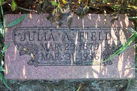 FIELDS, JULIA A. - Greene County, Missouri   JULIA A. FIELDS - Missouri Gravestone Photos