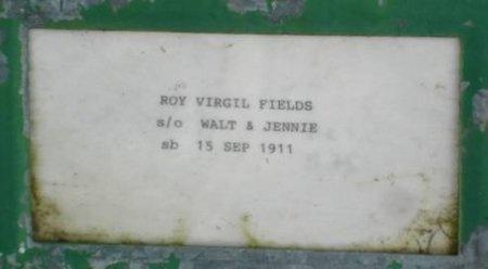 FIELDS, ROY VIRGIL - Greene County, Missouri | ROY VIRGIL FIELDS - Missouri Gravestone Photos