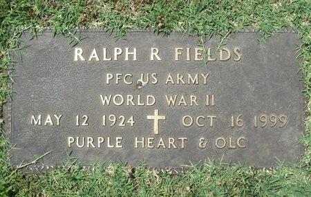 FIELDS, RALPH RUFUS (VETERAN WWII) - Greene County, Missouri | RALPH RUFUS (VETERAN WWII) FIELDS - Missouri Gravestone Photos