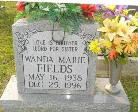 FIELDS, WANDA MARIE - Greene County, Missouri | WANDA MARIE FIELDS - Missouri Gravestone Photos