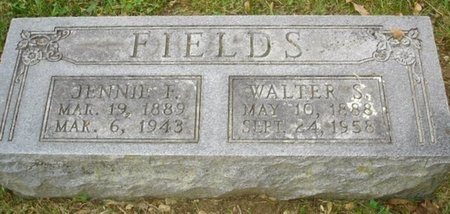 FIELDS, WALTER SYLVESTER - Greene County, Missouri | WALTER SYLVESTER FIELDS - Missouri Gravestone Photos