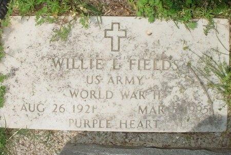 FIELDS, WILLIE LEWIS (VETERAN WWII) - Greene County, Missouri   WILLIE LEWIS (VETERAN WWII) FIELDS - Missouri Gravestone Photos
