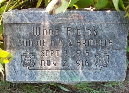 FIELDS, WADE - Greene County, Missouri | WADE FIELDS - Missouri Gravestone Photos