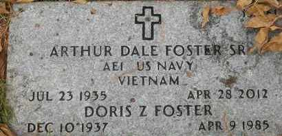 FOSTER, DORIS Z - Greene County, Missouri | DORIS Z FOSTER - Missouri Gravestone Photos