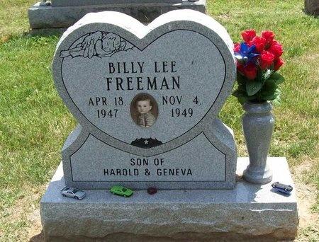 FREEMAN, BILLY LEE - Greene County, Missouri   BILLY LEE FREEMAN - Missouri Gravestone Photos