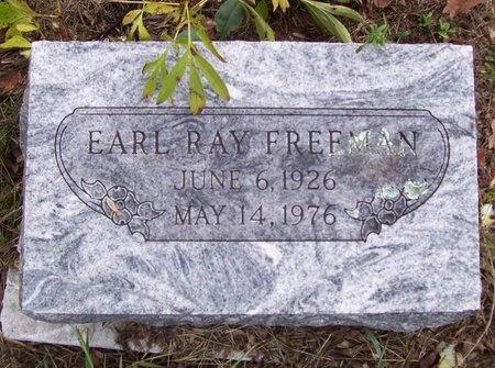 FREEMAN, EARL RAY - Greene County, Missouri | EARL RAY FREEMAN - Missouri Gravestone Photos