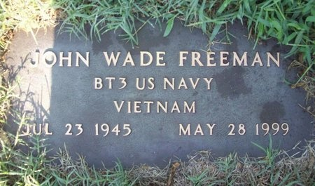 FREEMAN, JOHN WADE (VETERAN VIET) - Greene County, Missouri | JOHN WADE (VETERAN VIET) FREEMAN - Missouri Gravestone Photos