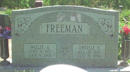 FREEMAN, ORVILLE EDWARD - Greene County, Missouri | ORVILLE EDWARD FREEMAN - Missouri Gravestone Photos