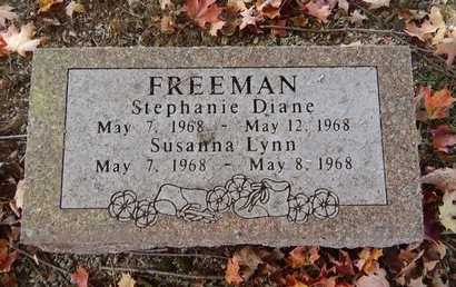 FREEMAN, SUSANNA LYNN - Greene County, Missouri | SUSANNA LYNN FREEMAN - Missouri Gravestone Photos