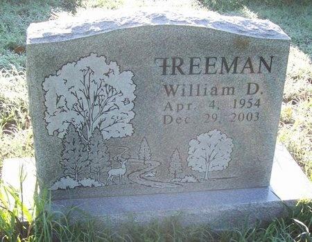 FREEMAN, WILLIAM DERRIEL - Greene County, Missouri | WILLIAM DERRIEL FREEMAN - Missouri Gravestone Photos