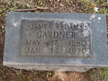GARDNER, JAMES FROAMS - Greene County, Missouri | JAMES FROAMS GARDNER - Missouri Gravestone Photos