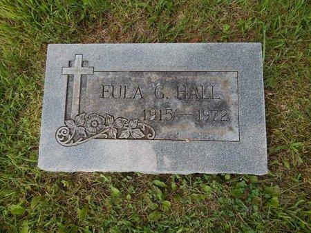 HALL, EULA G - Greene County, Missouri | EULA G HALL - Missouri Gravestone Photos