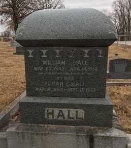 BLEVINS HALL, SUSAN ELIZABETH - Greene County, Missouri | SUSAN ELIZABETH BLEVINS HALL - Missouri Gravestone Photos