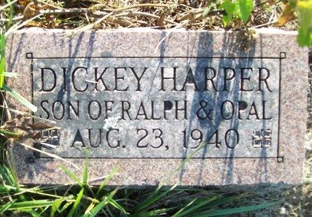 HARPER, DICKEY - Greene County, Missouri | DICKEY HARPER - Missouri Gravestone Photos
