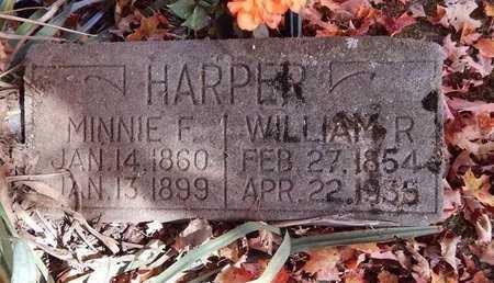 HARPER, WILLIAM R - Greene County, Missouri | WILLIAM R HARPER - Missouri Gravestone Photos