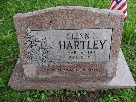 HARTLEY, GLENN L - Greene County, Missouri   GLENN L HARTLEY - Missouri Gravestone Photos
