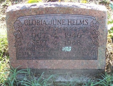 HELMS, GLORIA JUNE - Greene County, Missouri   GLORIA JUNE HELMS - Missouri Gravestone Photos