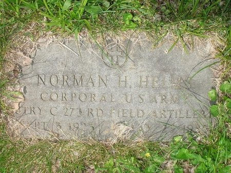 HELMS, NORMAN H (VETERAN) - Greene County, Missouri | NORMAN H (VETERAN) HELMS - Missouri Gravestone Photos