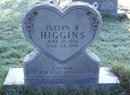 HIGGINS, EVELYN REBECCA - Greene County, Missouri | EVELYN REBECCA HIGGINS - Missouri Gravestone Photos