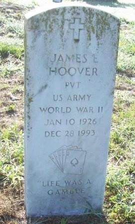 HOOVER, JAMES E (VETERAN WWII) - Greene County, Missouri   JAMES E (VETERAN WWII) HOOVER - Missouri Gravestone Photos