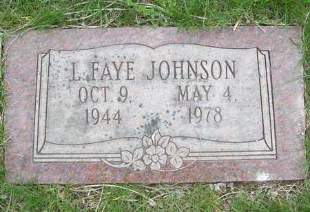 JOHNSON, LORETTA FAYE - Greene County, Missouri   LORETTA FAYE JOHNSON - Missouri Gravestone Photos