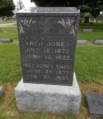 SMITH, ANNA INEZ JONES - Greene County, Missouri | ANNA INEZ JONES SMITH - Missouri Gravestone Photos