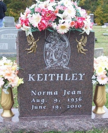 DECKER KEITHLEY, NORMA JEAN - Greene County, Missouri | NORMA JEAN DECKER KEITHLEY - Missouri Gravestone Photos