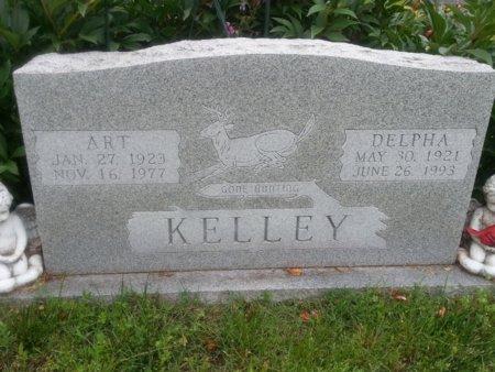 KELLEY, DELPHA - Greene County, Missouri | DELPHA KELLEY - Missouri Gravestone Photos