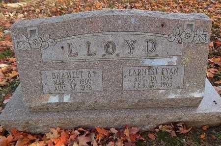 LLOYD, EARNEST FYAN - Greene County, Missouri | EARNEST FYAN LLOYD - Missouri Gravestone Photos