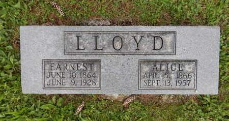 LLOYD, EARNEST - Greene County, Missouri | EARNEST LLOYD - Missouri Gravestone Photos