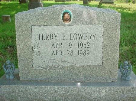 LOWERY, TERRY EUGENE - Greene County, Missouri   TERRY EUGENE LOWERY - Missouri Gravestone Photos