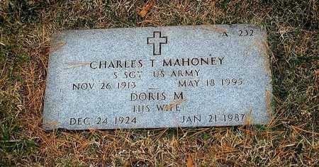 MAHONEY, DORIS M - Greene County, Missouri   DORIS M MAHONEY - Missouri Gravestone Photos