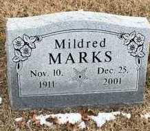 MARKS, MILDRED - Greene County, Missouri | MILDRED MARKS - Missouri Gravestone Photos