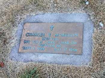 MCMULLIN, CHARLES E. - Greene County, Missouri | CHARLES E. MCMULLIN - Missouri Gravestone Photos