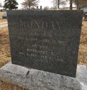 MONDAY, MARGARET M. - Greene County, Missouri | MARGARET M. MONDAY - Missouri Gravestone Photos