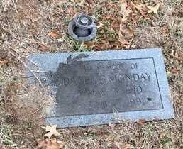 MONDAY, DAZEL - Greene County, Missouri | DAZEL MONDAY - Missouri Gravestone Photos