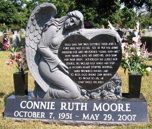 MOORE, CONNIE RUTH - Greene County, Missouri | CONNIE RUTH MOORE - Missouri Gravestone Photos
