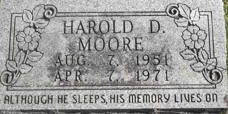 MOORE, HAROLD D - Greene County, Missouri | HAROLD D MOORE - Missouri Gravestone Photos