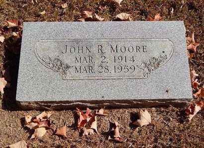 MOORE, JOHN R - Greene County, Missouri | JOHN R MOORE - Missouri Gravestone Photos