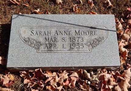MOORE, SARAH ANNE - Greene County, Missouri   SARAH ANNE MOORE - Missouri Gravestone Photos