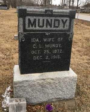 MUNDY, IDA - Greene County, Missouri   IDA MUNDY - Missouri Gravestone Photos